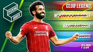 TIER LIST: Ranking Liverpool transfers 2010-2020 ft. Suarez, van Dijk & more!  Pecking Order
