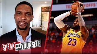 Chris Bosh talks his new book, NBA career, LeBron James and the Lakers | NBA | SPEAK FOR YOURSELF