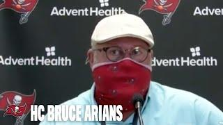 Bruce Arians on Training Camp & Veteran Leadership with Brady | Press Conference