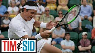 Milos Raonic Puts On His Basketball Insider Hat For Vince Carter Chat | Tim & Sid