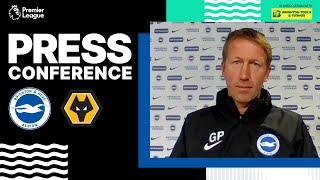 Graham Potter's Wolves Press Conference