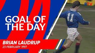 GOAL OF THE DAY | Brian Laudrup v Hibernian 1997