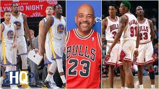 Michael Wilbon rips anyone who thinks Jordan's Bulls would lose to Warriors | Highly Questionable
