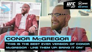 """""""Line them up! Bring it on!"""" Conor McGregor ready to takeover the lightweight division 