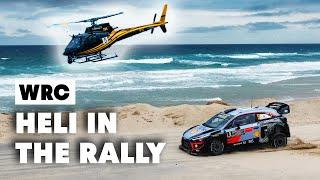 Crazy Helicopter Skills In The Best Rally Places | WRC 2019
