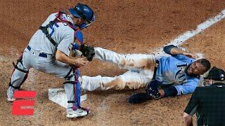Manuel Margot's attempt to steal home could've swung Game 5 for the Rays – Jessica Mendoza | KJZ