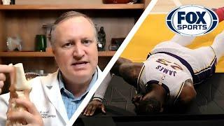 LeBron James' ankle injury — how severe is it and when will he be back? | DR. MATT | FOX SPORTS