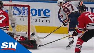 Connor McDavid Puts Home Power Play Goal In Dying Seconds Of Period