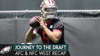 Inside the Draft For the AFC & NFC West | Journey to the Draft