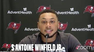 Antoine Winfield Jr. on Starting Role & Facing Drew Brees | Press Conference