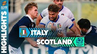 Italy 17-28 Scotland | Late Cummings & Turner Tries Seal Comeback | Autumn Nations Cup Highlights
