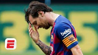 Is Quique Setien mishandling Lionel Messi as Barcelona struggle away from Camp Nou? | ESPN FC