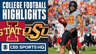 #17 Iowa State vs #6 Oklahoma State Highlights: Iowa ST lose to OSU | CBS Sports HQ
