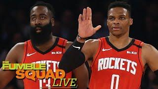 James Harden Getting Traded From Rockets Depends Entirely On Russell Westbrook | Fumble Live!