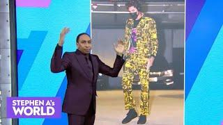 Stephen A.'s fashion review: Cameron Jordan, Dion Dawkins and Kelly Oubre | Stephen A.'s World