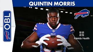 """Quintin Morris: """"As a Kid You Always Dreamed of Being Here, to be Here is Surreal""""   One Bills Live"""