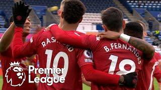 Marcus Rashford slots Manchester United in front of Leicester City | Premier League | NBC Sports