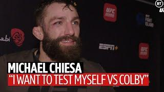 Michael Chiesa explains Colby Covington callout after win over Neil Magny