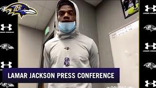 Lamar Jackson: Mad About Steelers Loss, But Moving On | Baltimore Ravens