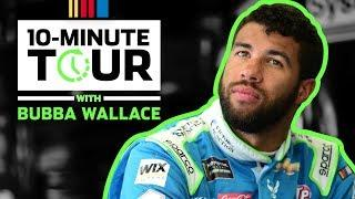 10-Minute Tour: Bubba Wallace hangs out with fans at Texas Motor Speedway