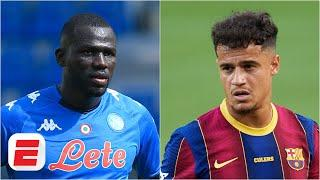 Kalidou Koulibaly to Liverpool? Barcelona's Philippe Coutinho to join Arsenal? | Transfer Rater
