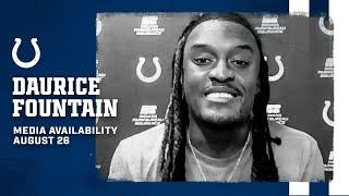Daurice Fountain On Competition In Training Camp, T.Y. Hilton's Guidance