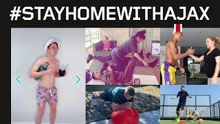 #StayHomeWithAjax #2 | Inspiration from our players