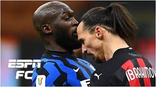 Zlatan Ibrahimovic vs. Inter Milan - Lukaku fight, goal and a RED CARD in Milan derby | ESPN FC