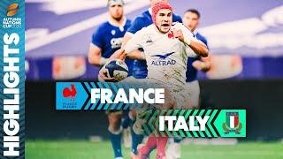 France 36-5 Italy | Five-Try Win For France Sets Up Final vs England | Autumn Nations Cup Highlights