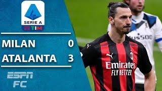Atalanta pummels league-leader Milan 3-0, Zlatan Ibrahimovic goes quiet | ESPN FC Serie A Highlights
