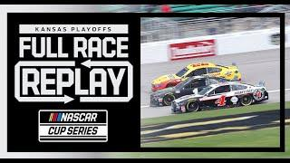Hollywood Casino 400 from Kansas Speedway | NASCAR Cup Series Full Race Replay