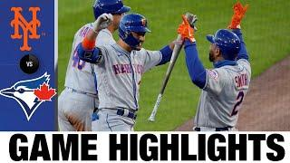 Dominic Smith's slam powers 10-run 4th in huge win | Mets-Blue Jays Game Highlights 9/11/20