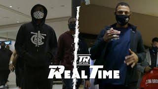 Crawford and Brook Arrive on Fight Night   REAL TIME EP. 6