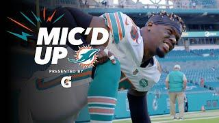 'It's a FAMILY. We gonna win as a FAMILY.' | Jerome Baker MIC'D UP | Chargers vs. Dolphins