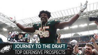 Analyzing the Country's Top Defensive Prospects w/ Dane Brugler | Journey to the Draft