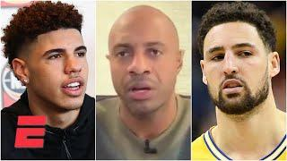 JWill on James Wiseman to the Warriors: I would have taken LaMelo Ball after Klay's injury | KJZ