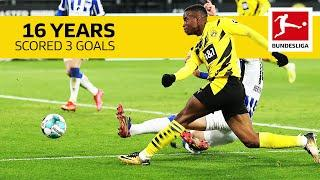 Youssoufa Moukoko - All Goals of the 16 Year Old BVB Striker So Far
