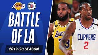LeBron vs. Kawhi, Relive The BEST From Lakers-Clippers Last Season | #KiaTipOff20