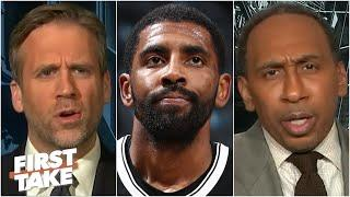 Stephen A. & Max react to Kyrie Irving speaking to the media | First Take