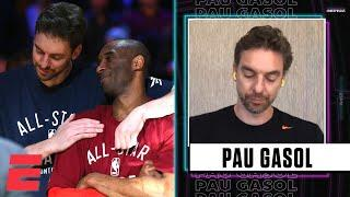Pau Gasol gets emotional while reminiscing about Kobe | Highlights with Omar Raja
