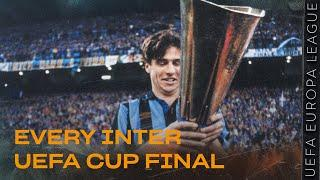 EVERY INTER UEFA CUP FINAL | BACK TO 1991, 1994, 1997, 1998 | AHEAD OF SEVILLA vs INTER!