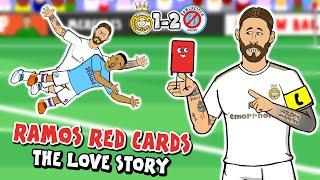 RAMOS loves RED CARDS! 1-2 Real Madrid vs Man City (Champions League 2020 Parody Goals Highlights)