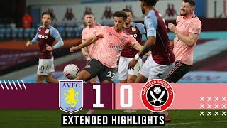 Aston Villa 1-0 Sheffield United | Extended Premier League highlights