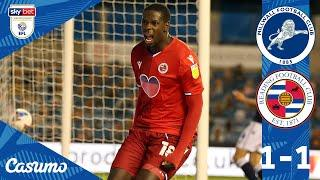 MILLWALL 1-1 READING | Royals come from behind, as Joao's strike earns a point at The Den