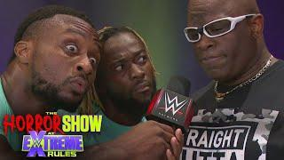 D-Von Dudley schools The New Day in Tables Match strategy: The Horror Show at WWE Extreme Rules