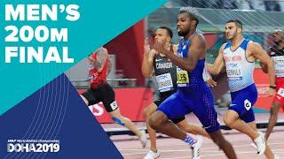 Men's 200m Final | World Athletics Championships Doha 2019