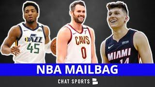 Kevin Love Trade Rumors + James Wiseman, Devin Booker & Donovan Mitchell News & Tyler Herro