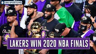 Lakers defeat Heat in 6 games to win NBA title, LeBron James named Finals MVP | CBS Sports HQ