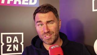 'WE'RE GONNA MILK THE GRANNY OUT OF IT!' - EDDIE HEARN ON WARRINGTON, AJ MEETING, ANDRADE-WILLIAMS