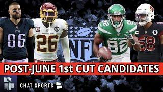 NFL Cut Candidates: 5 Players That Could Be Released After June 1st Feat. Zach Ertz & Landon Collins
